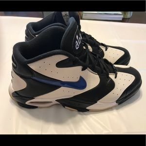 Nike Air Up Orlando Size 12 Black and White Stripe